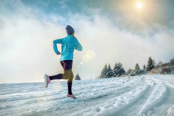 De basisregels bij sporten in extreme kou